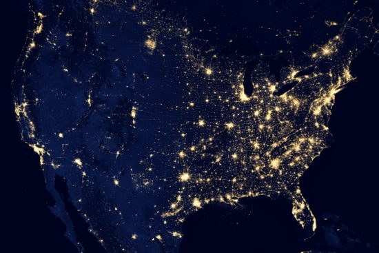 US from space